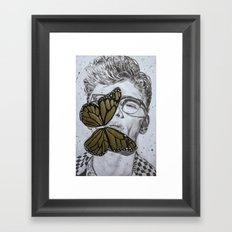 Dave Franco Framed Art Print