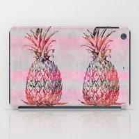 pineapple iPad Cases featuring Pineapple by LebensART