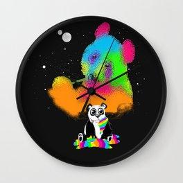 Technocolored Dreams Wall Clock