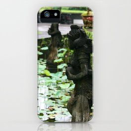 Bali - Hindu Goddess Statues iPhone Case