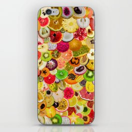 Fruit Madness (All The Fruits) iPhone Skin