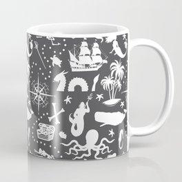 High Seas Adventure // Charcoal Coffee Mug