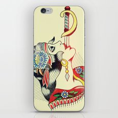 Sword Magic Girl iPhone Skin