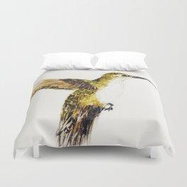Hover Bird Duvet Cover