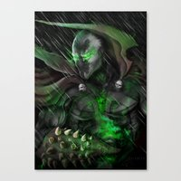 spawn Canvas Prints featuring Spawn by Nick Fernandez