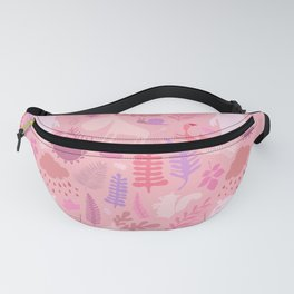 PNW Forest in Peony Pink Fanny Pack