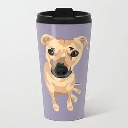 Lily Dog Metal Travel Mug
