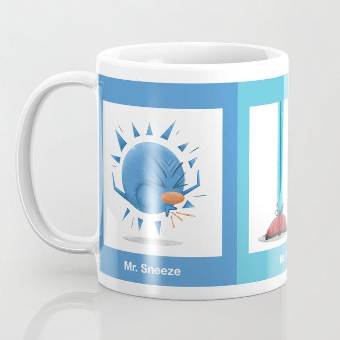 Mr Men Squared Coffee Mug