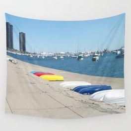 Chicago, Chicago shoreline, Skyline, Lake Michigan Wall Tapestry