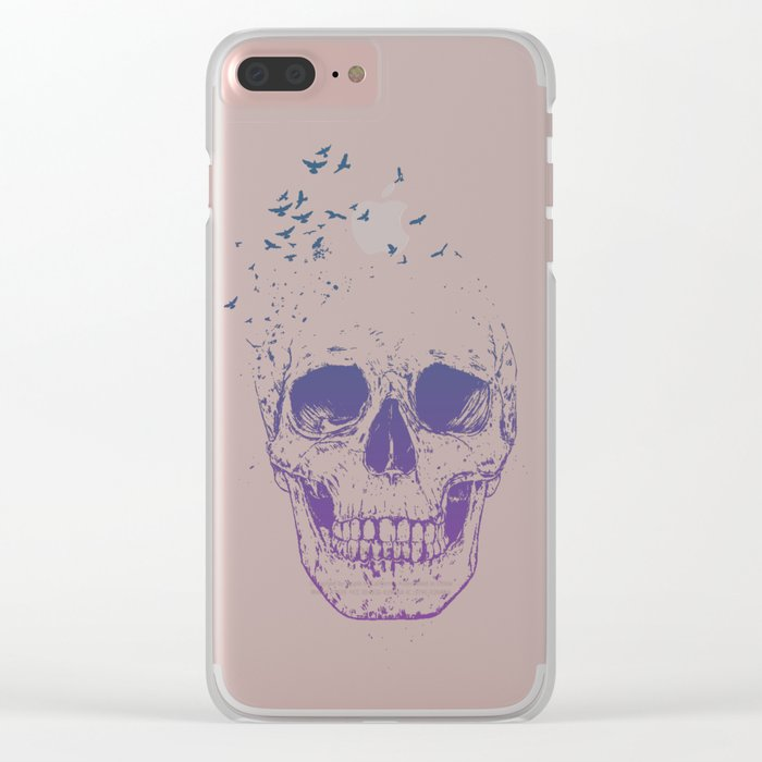 Let them fly Clear iPhone Case