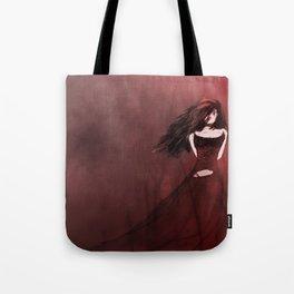 Crimson Woods Tote Bag