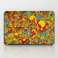 mucha iPad Cases featuring Mucha Lucha by Guilherme Marconi