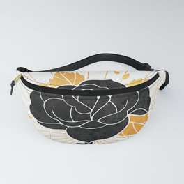 Black Rose Inktober :: Your Psyche Fanny Pack