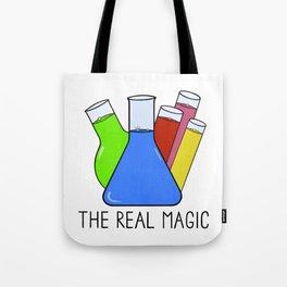 Science - The Real Magic Tote Bag