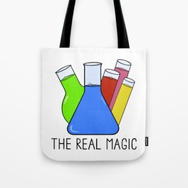 Science - The Real Magic Tote Bag