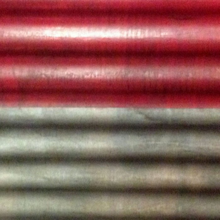 Industrial Wall   Red Grey Striped Wall   Contemporary Art Comforters