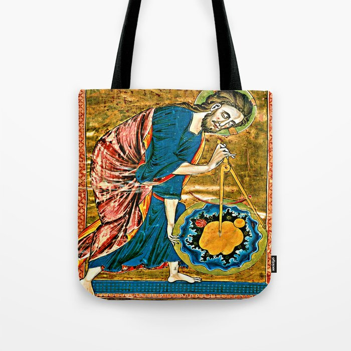 God the Geometer Tote Bag