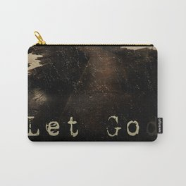 LET GOD Carry-All Pouch