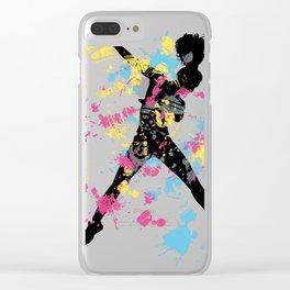 Hip Hip Dancer Clear iPhone Case