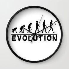 Zombie evolution Wall Clock