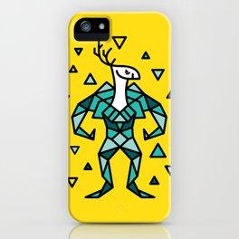 Deer Warrior iPhone Case