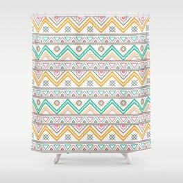 Batik Style 4 Shower Curtain