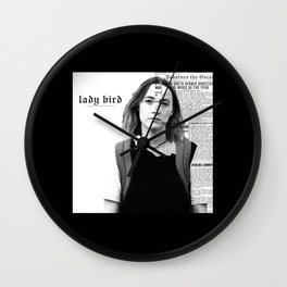 Look What You Made Lady Bird Do Wall Clock