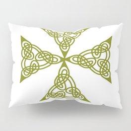Lindisfarne St Johns Knot Grunge Pillow Sham