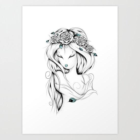 Poetic Gypsy Art Print