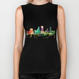 Jacksonville, Florida skyline SP Biker Tank