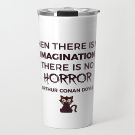 Scary Frightening Horror Halloween Design Travel Mug