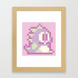 Bubble Bobble Pop - Lilac Framed Art Print