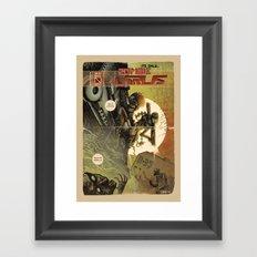 Zombie Virus Framed Art Print