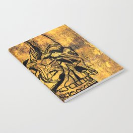 Crushed Skull Drawing Notebook