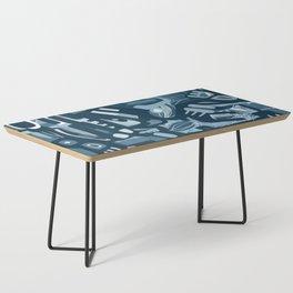 Winter Blues Coffee Table
