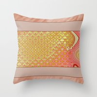 frame Throw Pillows featuring Frame by Fine2art
