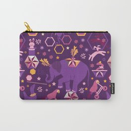 Hexagon circus Carry-All Pouch
