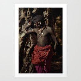 Samburu tree Art Print
