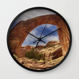 Rainbow Bridge National Monument Wall Clock