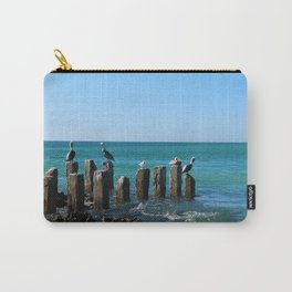 A Birds Meeting Place Carry-All Pouch