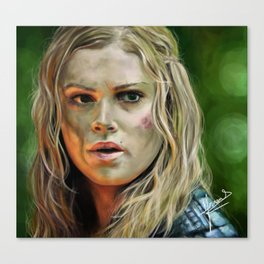 Clarke Griffin (The 100) Canvas Print