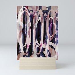 Pattern Type Color Independence Aubergine Mini Art Print