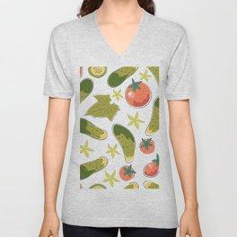 Veggies Unisex V-Neck