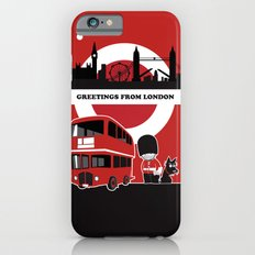 Greetings from London Slim Case iPhone 6s