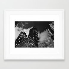 Gotham2 Framed Art Print