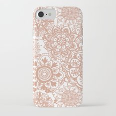 Rose Gold Mandala Pattern Slim Case iPhone 7