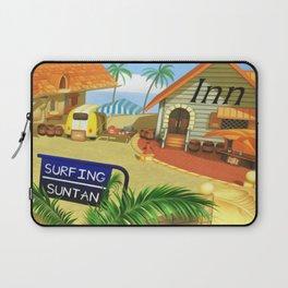 Costa Del Sol Surfing Suntan Laptop Sleeve