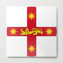 State Badge of New South Wales  Metal Print