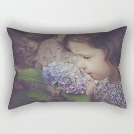 Hurry Up Spring Rectangular Pillow