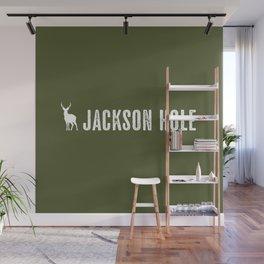 Deer: Jackson Hole, Wyoming Wall Mural